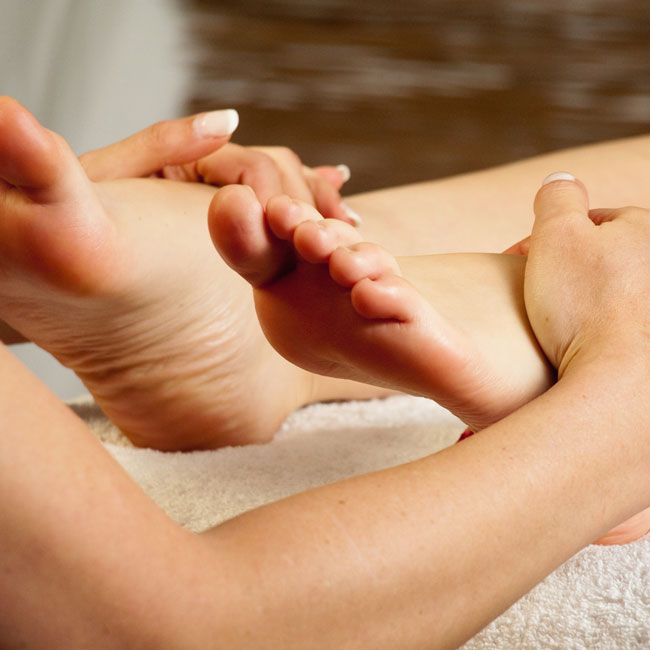 "Wellnesswoche ""Fußreflexmassage"""